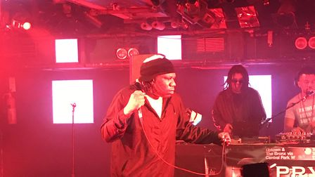 KRS One headlining The Waterfront in Norwich. Picture: David Warman