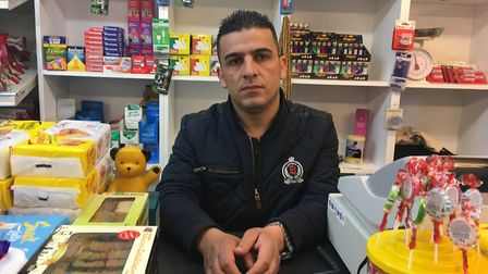 Friad Mohammed, who is the new owner of Magdalen Road Convenience Store. Pic: Dan Grimmer
