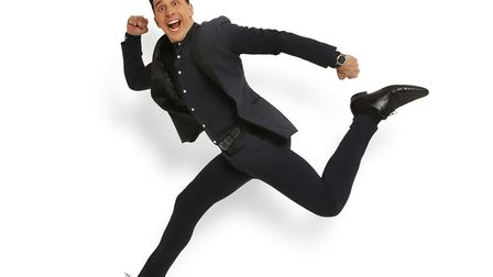 Russell Kane. Picture: Supplied by Norwich Theatre Royal