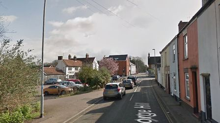 A man was attacked during a robbery at a betting shop on George Hill, Norwich. Picture: Google