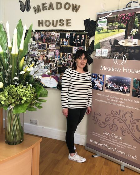 Tracy Eves, who works at Meadow House in Swaffham. Picture: HEALTHCARE HOMES