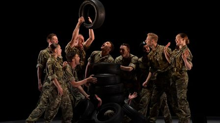 10 Soldiers. Picture: Supplied by Norwich Theatre Royal