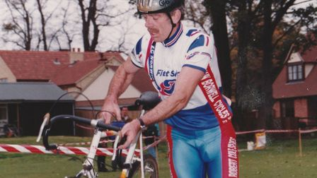 Cycling was just one of the passions in Mike Buxton's life Picture: FAMILY COLLECTION
