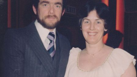 Mike was absolutely besotted with Maureen. They celebrated their ruby anniversary last year Picture