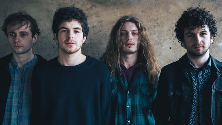 Norwich rock band HANK. Picture: Rory James