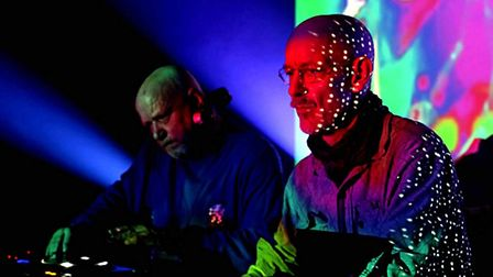 Electronic/dance duo The Orb. Picture: The Orb