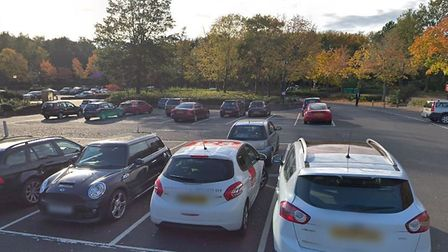 Police broke up a party of more than 100 cars in Bowthorpe Shopping Centre car park (Picture: Google