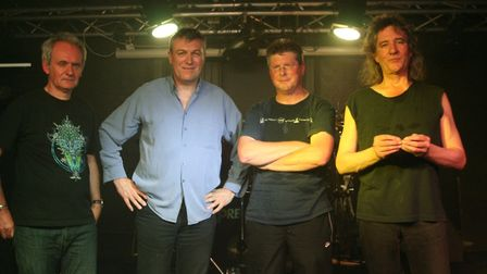 """Singer Eric Gough, pictured with band Worlds Apart, far left, was described as a """"gentle soul and a"""