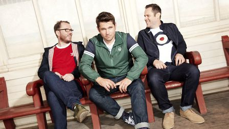 Scouting For Girls. Picture: Supplied by UEA Box Office