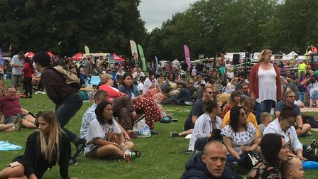 Crowds at the Magic of Thailand Festival, Eaton Park, Norwich. Picture: Staff