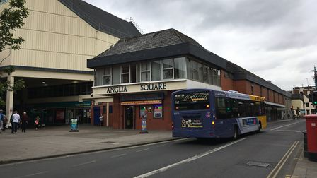 Anglia Square on Magdalen Street, Norwich. Picture: SOPHIE WYLLIE