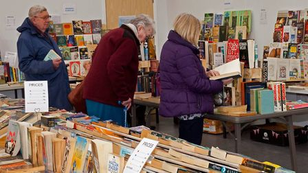 Thompson's Grand Second Hand Book Sales. Pictures from the last event in April. Pictures: V Clarke