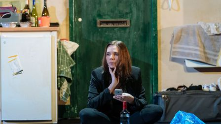 Samantha Womack as Rachel Watson in The Girl on a Train. Picture: Manuel Harlan
