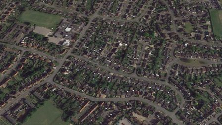 Ketts Avenue in Wymondham with face closures. Picture: Google