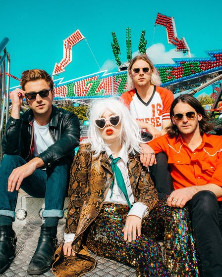 Black Honey have been announced to perform at Wild Paths Festival in Norwich. Picture: Supplied by W