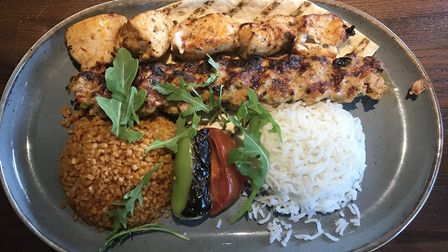 The tavuk beyti at Mr Mangal on Dereham Road in Norwich. Picture Jessica Long.