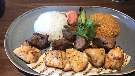 The kuzu combo kebab at Mr Mangal on Dereham Road in Norwich. Picture Jessica Long.