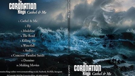 Coronation Kings' debut album Cathel & Me. Picture: Supplied by Richard Barrett