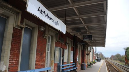 Attleborough train station is set for a host of improvements. Picture: Sonya Duncan