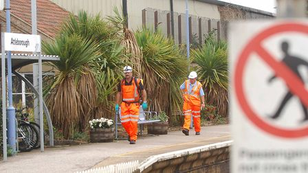 Attleborough train station is set for a host of improvements. Picture: ANTONY KELLY