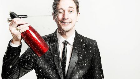 John Robins was the night's headliner. Credit: Supplied by Red Card Comedy Club.