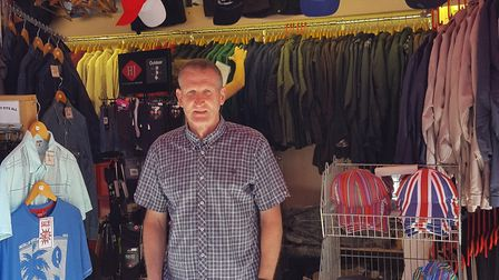 Richard Anderson is stood outside Andersons Norwich market Photo: Submit