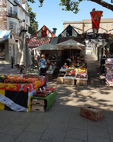 The picture of the Fruit Stall is CJ's Fruit and Veg Norwich market Photo: Submit