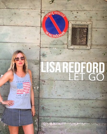 Norwich singer Lisa Redford has released single Let Go from her EP Edge of Love. Picture: Supplied b
