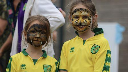 Norwich City Fans Social Clubs Family Fun Day, 2019. Picture: Kelly Saddleton