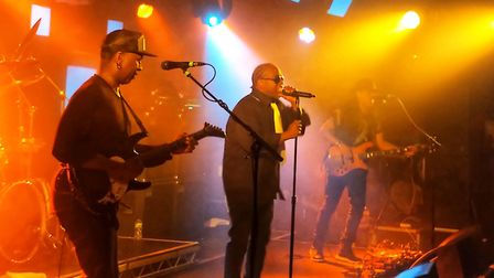 Living Colour perfom at The Waterfront. Picture: Adam Aiken