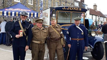 The popular Dad's Army Day is set to return to Swaffham. Picture: Swaffham Town Council
