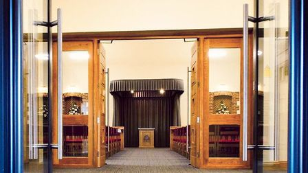 The new chapel at the Breckland Crematorium. Picture: Thornalley Funeral Services