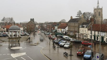 Work has been done to improve air quality in Swaffham town centre. Picture: Ian Burt