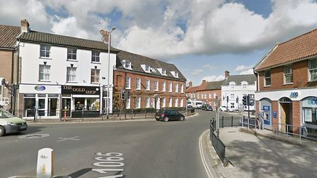 A small area in Swaffham town centre was declared an Air Quality Management Area in 2017. Picture: G