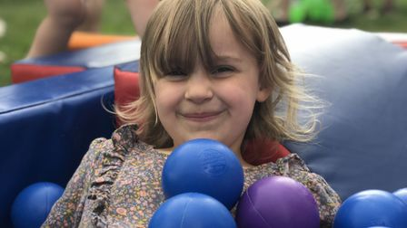 Children had many activities to join in with at The Big Latch On. Picture: Ella Wilkinson