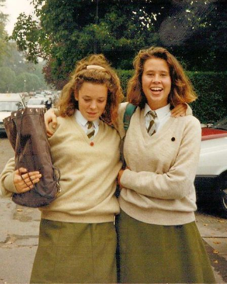 Oscar winner Olivia Colman as a Norwich High School for Girls pupil. Photo: Submitted