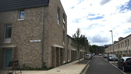 New Passivhauses on Haslips Close in Norwich. Picture: Archant