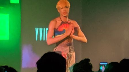 Yvie Oddly performing at The Waterfront Norwich. Picture: Marc Betts