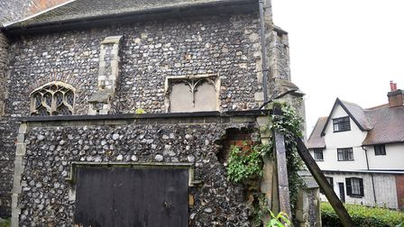 St John de Sepulchre Church is set for renovation after receiving a 218,000 heritage grant. Picture: