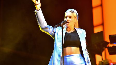 Anne Marie headlining the Saturday of Sundown Festival 2019 at the Royal Norfolk Showground. Picture