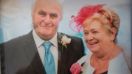 Andrew and Jean Crawford who were killed in a crash on the A1075 at Hockham. PIC: Norfolk Police.