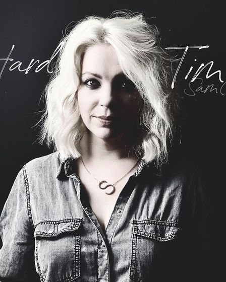 Norwich-based singer and songwriter Sam Coe's first solo single, Hard Time. Picture: Supplied by Sam