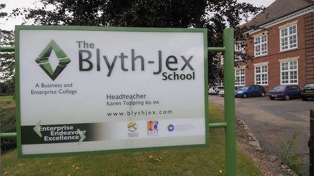 Blyth-Jex School, now known as Sewell Park Academy. Picture: Archant