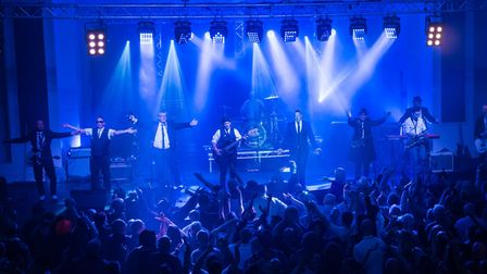 Ska Face, the UK's leading 2 Tone tribute band, performing live. Picture: Supplied by Epic Studios