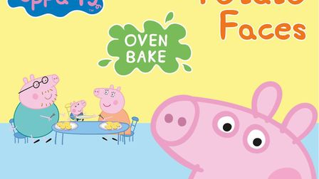 Peppa Pig potato faces have been launched by The Fun Food Family. Picture: AP East Anglia