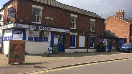 Silver Stores on the corner of Silver Road and Silver Street. Picture: Staff