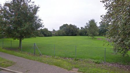 New homes could be built on a school's former playing field in Necton. Picture: Google Maps