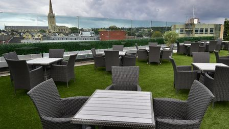 Rooftop Gardens bar and restaurant in Rose Lane in Norwich. Picture: ANTONY KELLY
