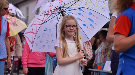 Action from the Watton Carnival 2019. Picture: Jamie Honeywood
