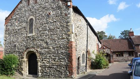Lazar House in Sprowston, the 900-year-old former Leper hospital, almshouse and more recently Norwic